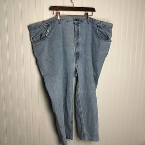 Levi's 545 Made in USA Light wash loose fit jeans